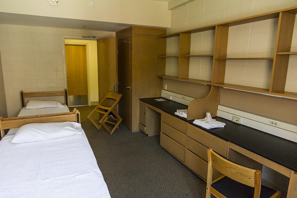 Pretty Much Every Room In New South Is Exactly The Same, Except For The  Corner Rooms. Theyu0027re Pretty Rectangular, With The Door/windows Sides  (directly ...